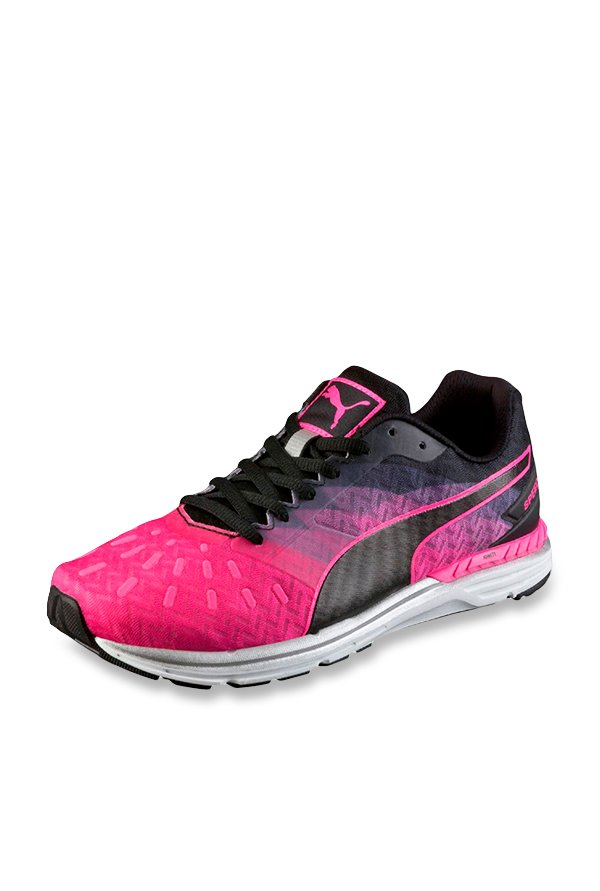 0aa1d6d35cf0 Buy Puma Speed 300 Ignite Pink Glow   Black Running Shoes for Women at Best  Price   Tata CLiQ
