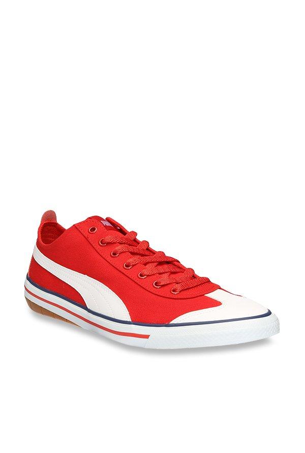 e5b6f1dac07 Buy Puma 917 FUN IDP H2T High Risk Red   White Sneakers for Men at Best  Price   Tata CLiQ