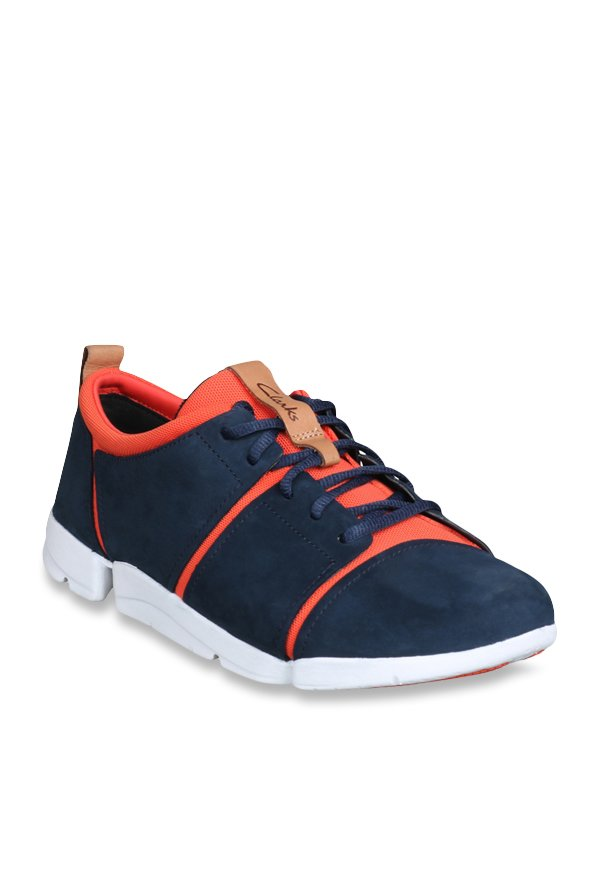 wholesale dealer 5229f 146b9 Buy Clarks Tri Fit Navy Sneakers for Women at Best Price ...