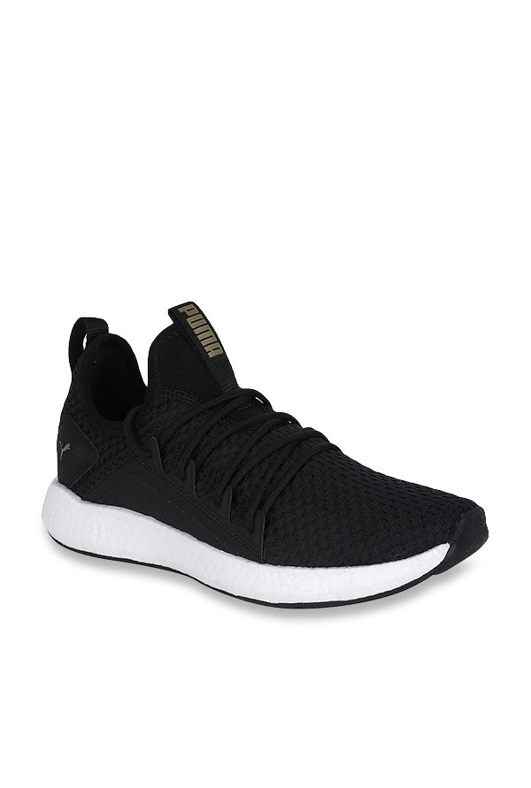 be76762120f1a3 Buy Puma NRGY Neko VT Black Running Shoes for Women at Best Price   Tata  CLiQ