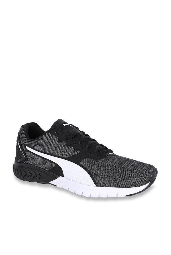 Buy Puma Ignite Dual NM Black Running Shoes for Men at