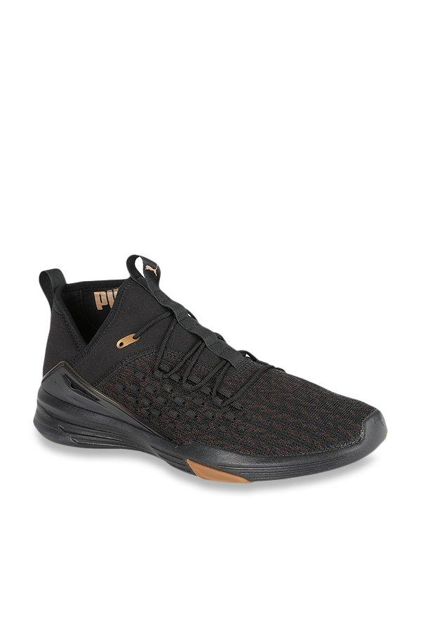 Buy Puma Mantra Fusefit Desert Black Training Shoes for Men at Best Price    Tata CLiQ 501956499