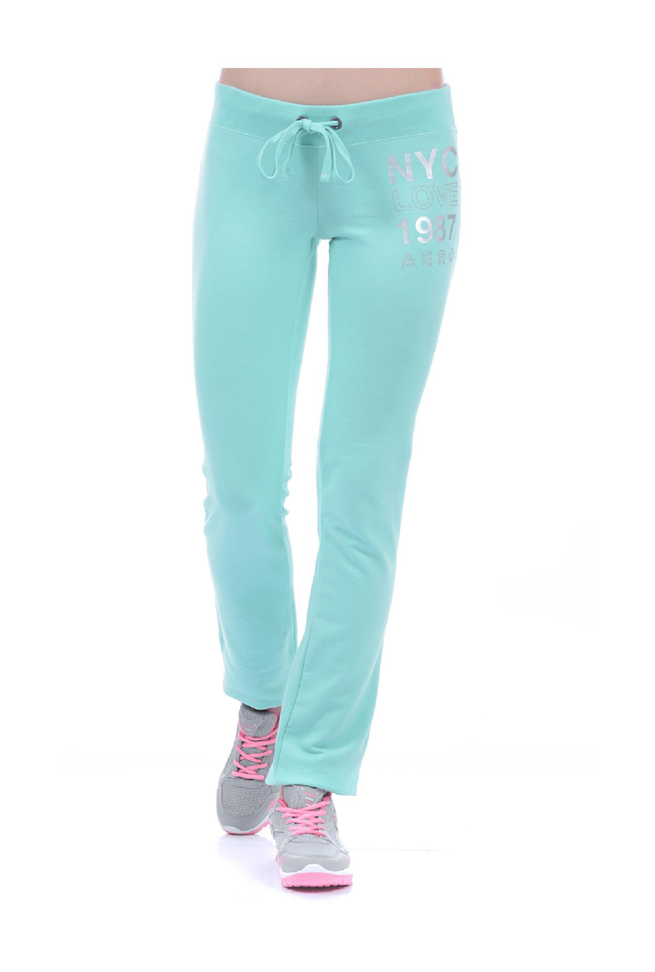 fba0ff5d8ac156 Buy Aeropostale Aqua Cotton Slim Fit Leggings for Women Online ...