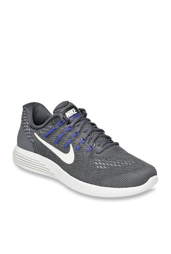 quality design 5c483 0d63b Nike Lunarglide 8 Grey Running Shoes
