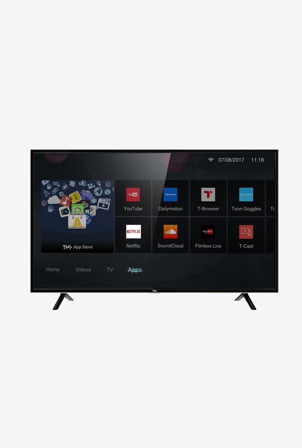 TCL 101 6 cm (40 Inches) Smart Full HD LED TV 40S62S (Black) (3 Year  Warranty)
