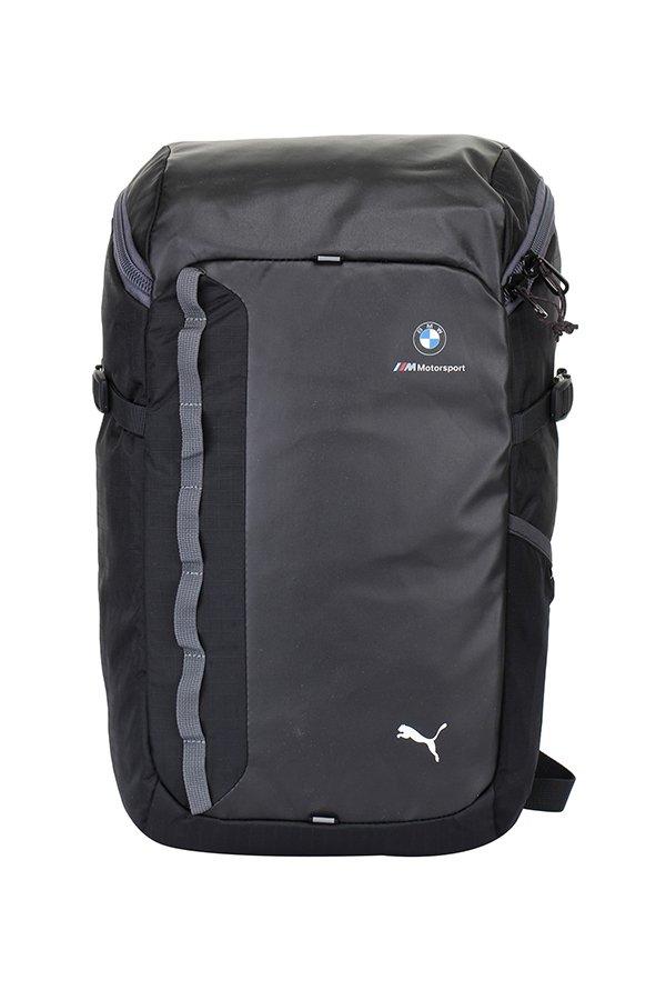 Buy Puma Bmw M Msp Dark Grey   Black Solid Laptop Backpack Online At Best  Price   Tata CLiQ 3f2a3d1121071