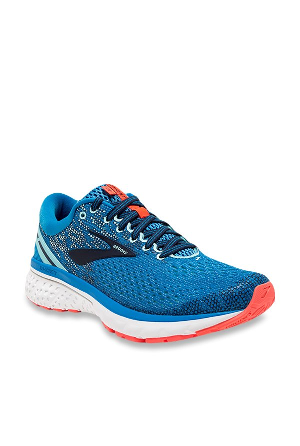 697aa2642bd Buy Brooks Ghost 11 Blue Running Shoes for Women at Best Price ...
