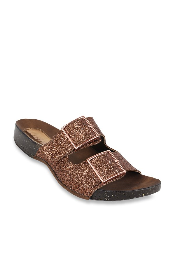 5b3ee0c95c Buy Catwalk Bronze Casual Sandals for Women at Best Price @ Tata ...