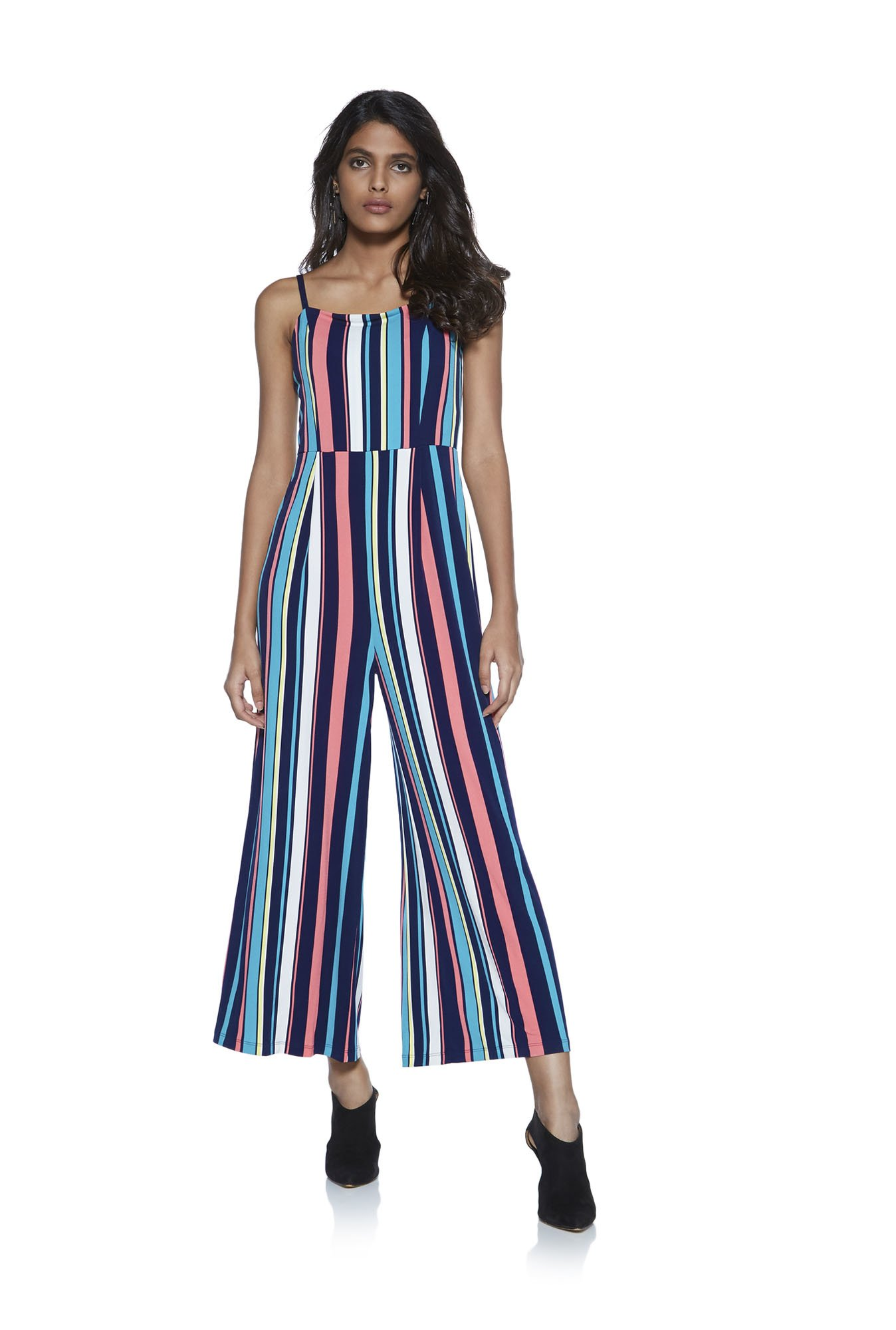 Buy Nuon By Westside Multicolor Nalinska Striped Jumpsuit For Women