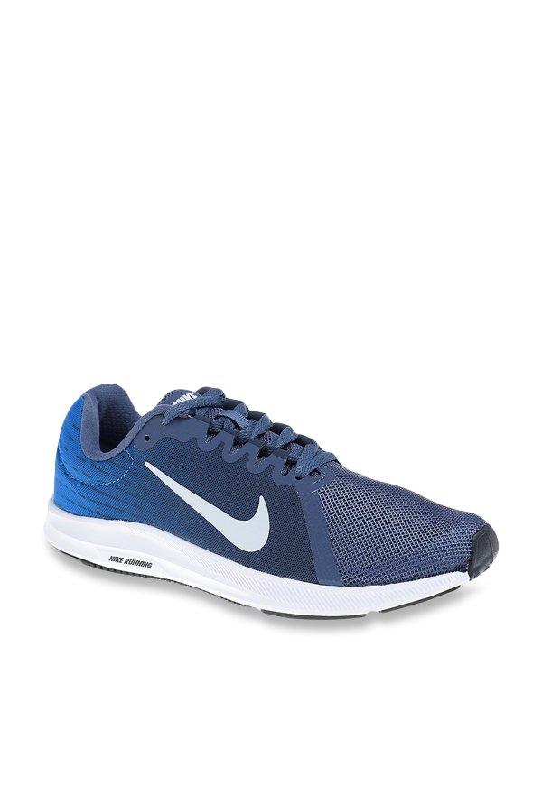 e18afa952ed Buy Nike Downshifter 8 Navy Running Shoes for Women at Best Price   Tata  CLiQ