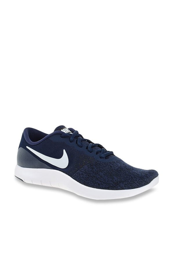 4414e0f2eaeb Buy Nike Flex Contact Navy Running Shoes for Men at Best Price   Tata CLiQ