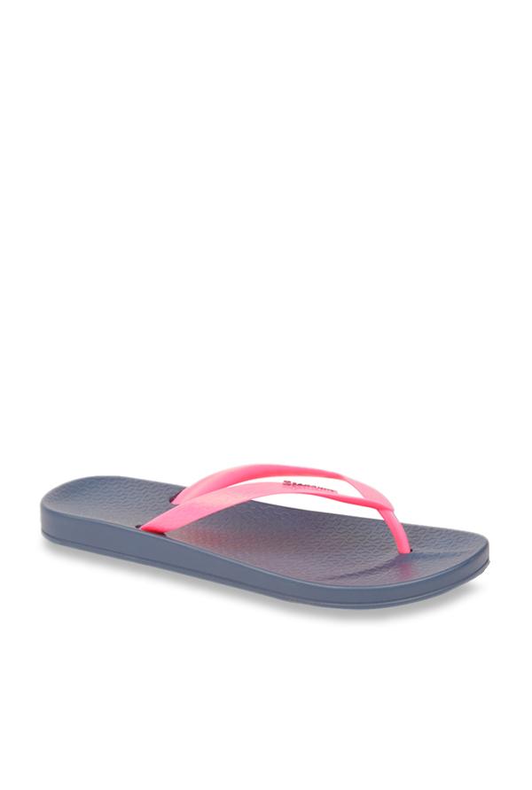 643c27414701 Buy Ipanema Anatomic Fem Pink   Navy Flip Flops for Women at Best ...