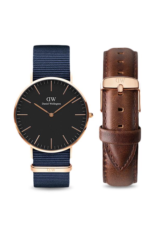 03e329be82e8 Buy Daniel Wellington DW00500268 Classic Bayswater Analog Watch for Men at  Best Price   Tata CLiQ