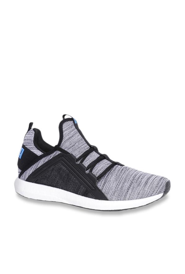 Puma mega nrgy heather knit  Casual Running  Shoes Mens Black