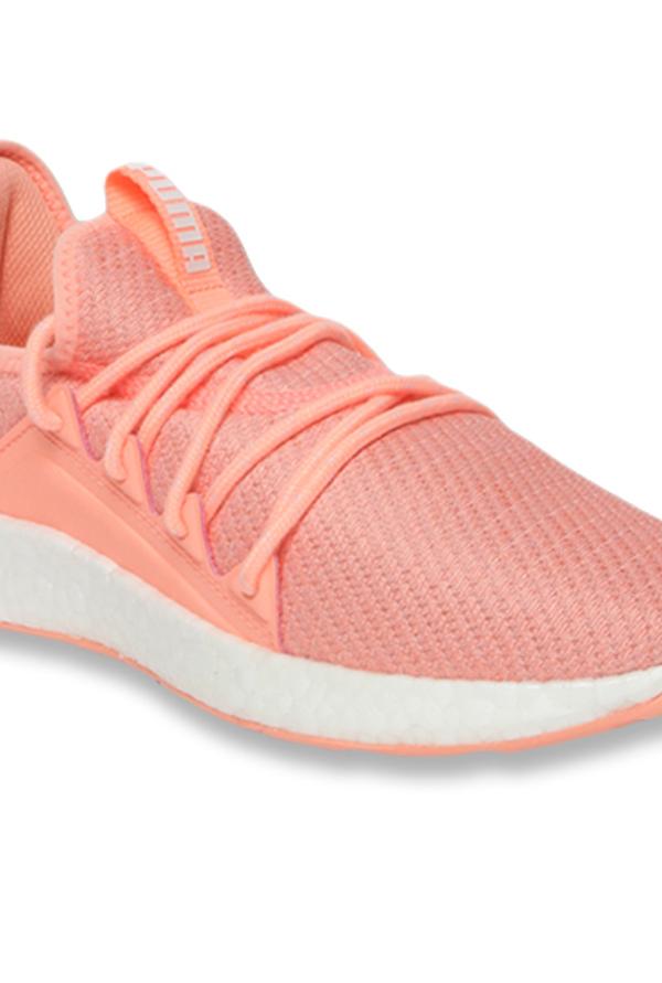 Buy Puma NRGY Neko Knit Peach Bud Running Shoes for Women at ...