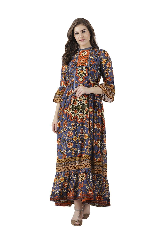 c6fb99dcd57 Cotton Floral Dresses Online India | Saddha