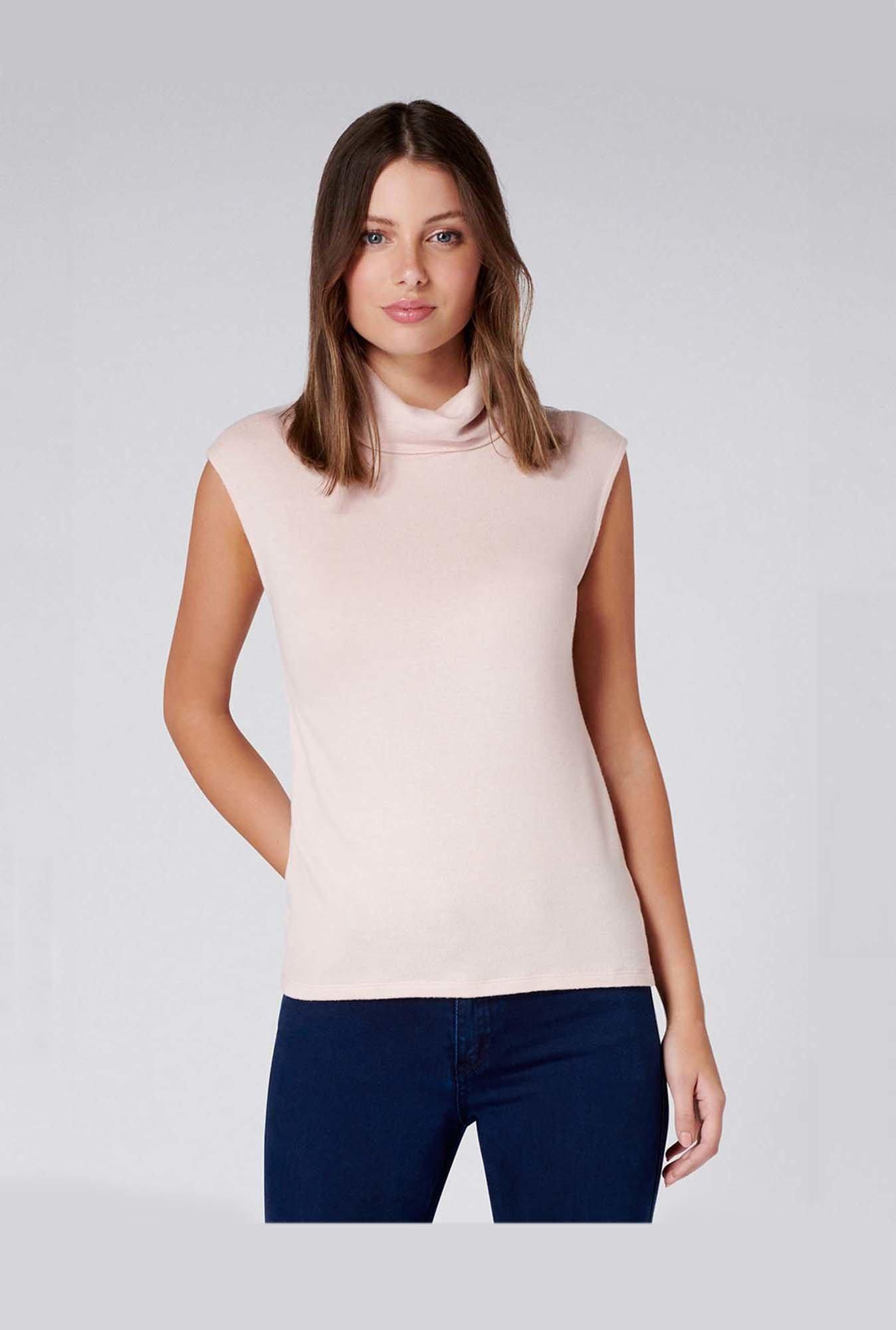f8235d79e36 Buy Forever New Blush Regular Fit Top for Women Online   Tata CLiQ