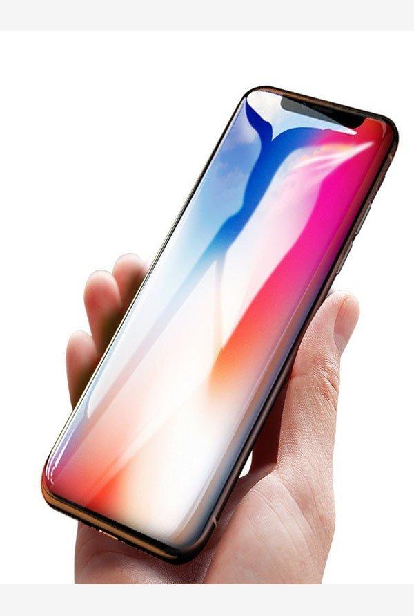 buy popular d32df 4e32e Vaku Apple iPhone X / XS 5D Curved Edge Ultra-Strong Ultra-Clear ...