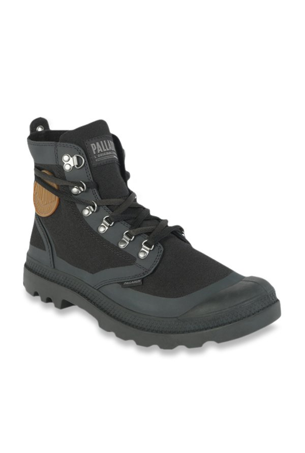 2a10be21e6c Buy Palladium Pallafox TX Black Casual Boots for Men at Best Price ...