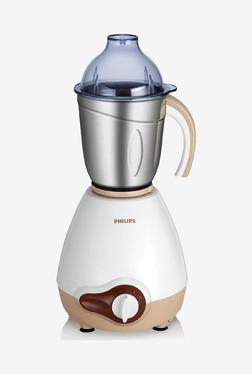 Philips Viva Collection HL1646/00 600W 3 Jars Mixer Grinder (White)