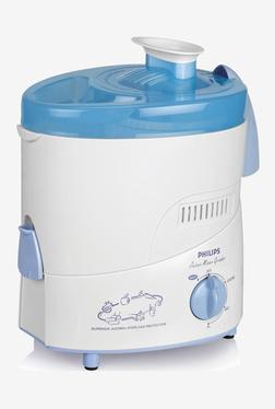 Philips HL1632/00 500W 3 Jar Juicer Mixer Grinder (White)