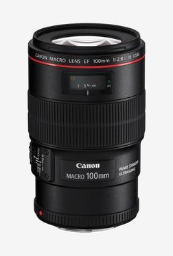 Canon EF 100mm f/2.8L Macro IS USM Lens Black