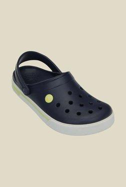 Crocs Crocband II.5 Navy & Citrus Clogs