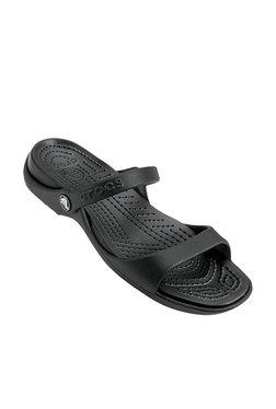 28f39ced006d Crocs Cleo Black Sandals