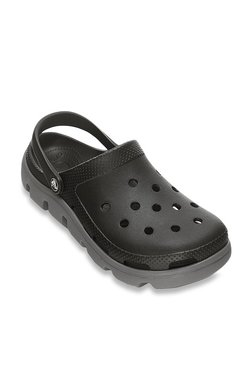 fd857ea55 Crocs Duet Sport Black Clogs for Men online in India at Best price ...
