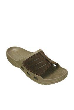 e0b288c725593 Crocs Yukon Mesa Khaki Slippers for Men online in India at Best ...