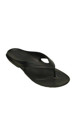 61afff5c26b4 Crocs Classic Black Flip Flops