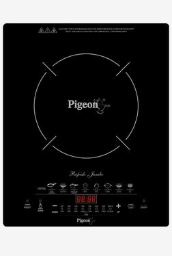 Pigeon Rapido Jumbo Feather Touch Induction Cooktop (Black)
