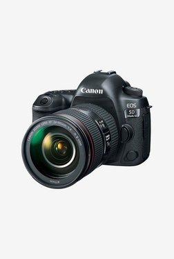 Canon EOS 5D Mark IV EF 24-105 IS II USM DSLR Camera (Black)