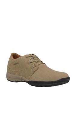 Woodland Khaki Derby Shoes 5f445ab69