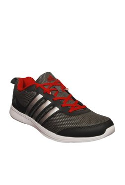 hot sale online 5fede 6fa0f Adidas Yking Grey   Red Running Shoes