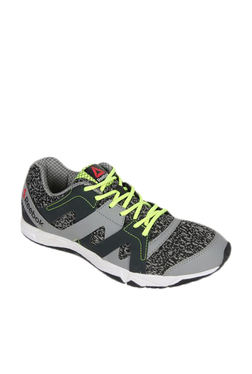 Reebok Run Essence Grey & Black Running Shoes