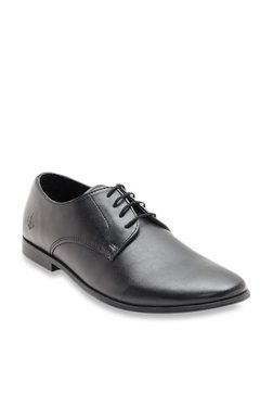 2736c19ff35 Bond Street by Red Tape Black Derby Shoes