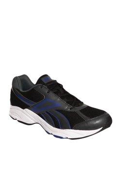 d122d3cec9a3 Reebok Record Runner LP Black   Blue Running Shoes