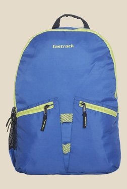 Fastrack Blue Solid Polyester Backpack 2893e22d45a1a