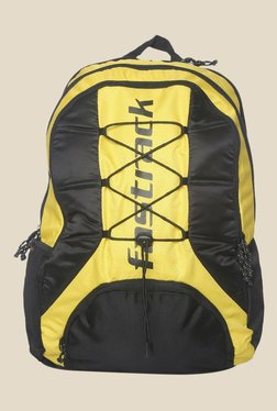 884e906f70 Fastrack Yellow Polyester Textured Backpack