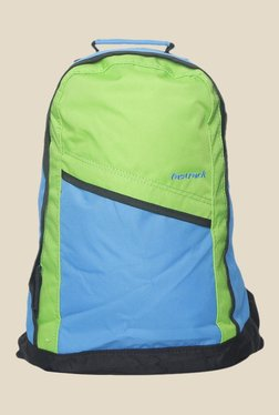 7a260accf776 Fastrack Blue and Green Polyester Backpack