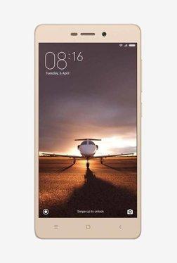 Xiaomi Redmi 3S Prime 32 GB (Gold) 3 GB RAM, Dual SIM 4G TATA CLiQ deals