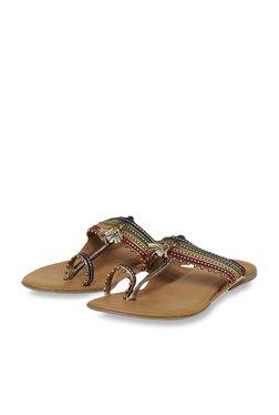6efba401a51f Mochi Multicolor Toe Ring Sandals