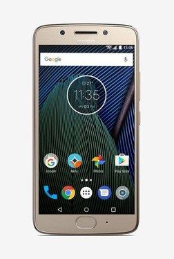 Motorola Moto G5 16 GB (Fine Gold) 3 GB RAM, Dual SIM 4G TATA CLiQ Rs. 6457.00
