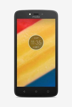Motorola Moto C 16 GB (Starry Black) 1 GB RAM, Dual SIM 4G TATA CLiQ Rs. 5313.00
