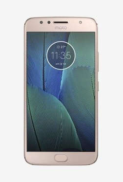 Motorola Moto G5s Plus 64GB (Blush Gold)4GB RAM, Dual Sim 4G