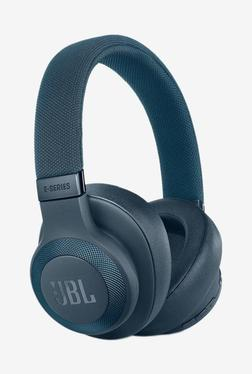 JBL E65BTNC Bluetooth Earphone with Mic (Blue)