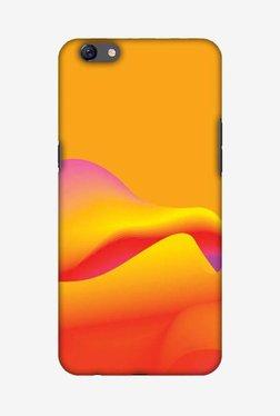Amzer Pink Gradient Hard Shell Designer Case For Oppo F3 Plus