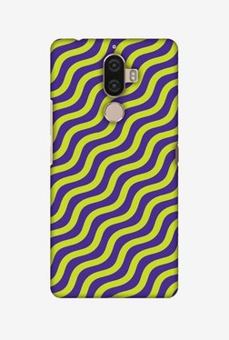 Amzer Waves Hard Shell Designer Case For Lenovo K8 Note