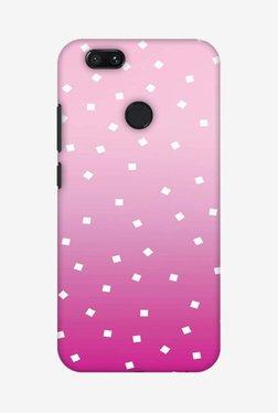 Amzer Pink Bits Hard Shell Designer Case For Mi A1/Mi 5X
